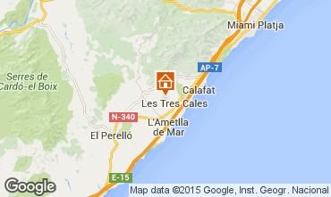 Carte La Ametlla de Mar Villa 59886