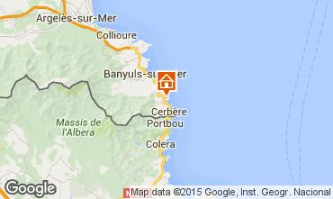 Carte Banyuls-sur-Mer Appartement 71534