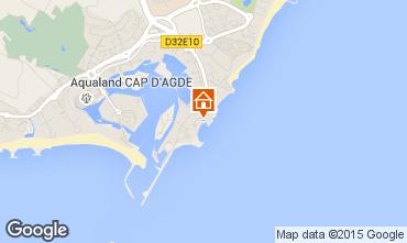 Carte Cap d'Agde Appartement 100464