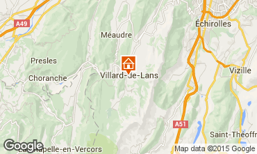 Carte Villard de Lans - Corrençon en Vercors Appartement 3704
