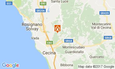 Carte Cecina Gite 110576
