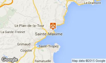 Carte Sainte Maxime Villa 8541