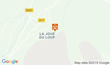 Carte Superdévoluy- La Joue du Loup Appartement 112558