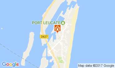 Carte Port Leucate Studio 6310