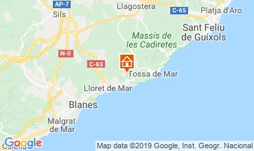 Carte Lloret de Mar Villa 117948