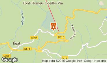 Carte Font Romeu Appartement 4136