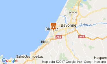 Carte Biarritz Studio 109182