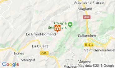 Carte Le Grand Bornand Chalet 110705