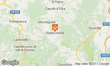 Carte Radicondoli Villa 92861