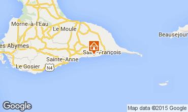 Carte Saint Francois Villa 101258