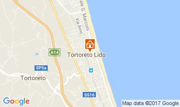 Carte Tortoreto Appartement 110561