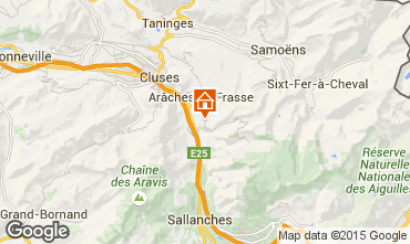 Carte Les Carroz d'Araches Chalet 90862