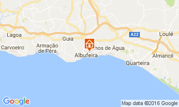 Carte Albufeira Appartement 106350