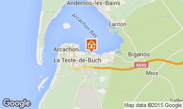 Carte Arcachon Mobil-home 76641
