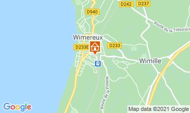 Carte Wimereux Gite 95721