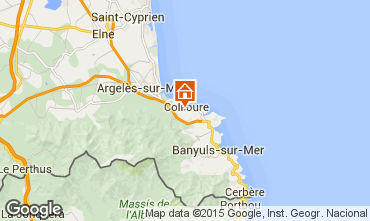 Carte Collioure Appartement 96764