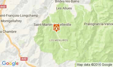 Carte Les Menuires Chalet 91424