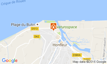 Carte Honfleur Appartement 106478