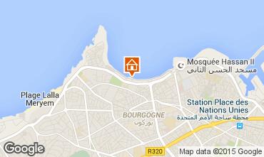 Carte Casablanca Appartement 9024