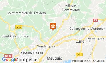 Carte Montpellier Villa 116911