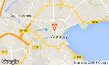 Carte Annecy Appartement 30857