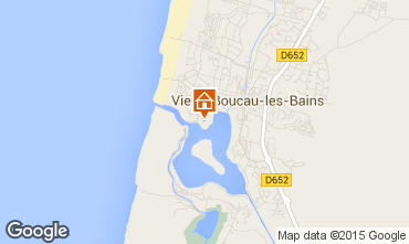 Carte Vieux Boucau Appartement 10066