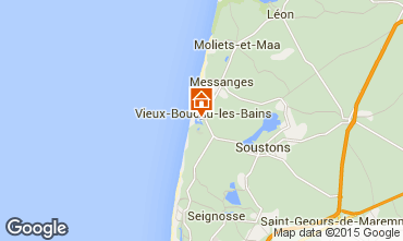 Carte Vieux Boucau Appartement 79430