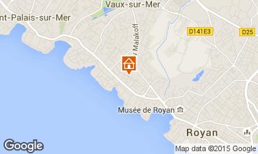 Carte Vaux sur Mer Villa 101709