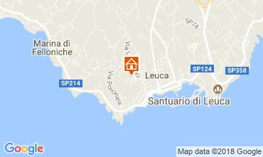 Carte Santa Maria di Leuca Appartement 114748
