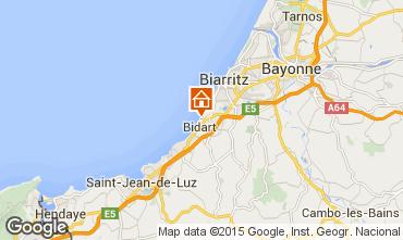 Carte Biarritz Villa 63610