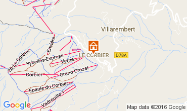 Carte Le Corbier Studio 106601