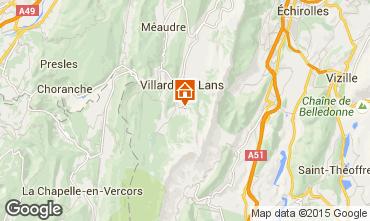 Carte Villard de Lans - Corrençon en Vercors Gite 3696