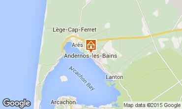 Carte Andernos les Bains Appartement 62761
