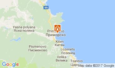 Carte Primorsko Appartement 112650
