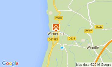 Carte Wimereux Maison 70960