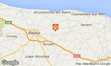 Carte Bayeux Gite 79323