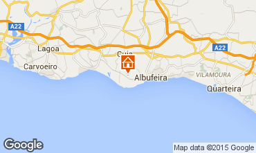 Carte Albufeira Appartement 70603