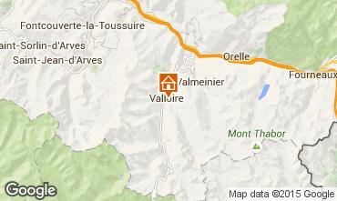 Carte Valloire Appartement 26150