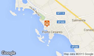 Carte Porto Cesareo Appartement 70791