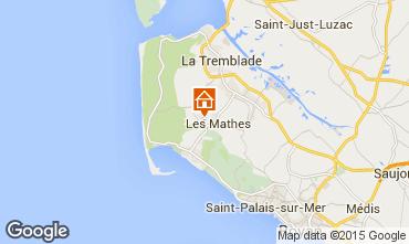 Carte Les Mathes Mobil-home 96192
