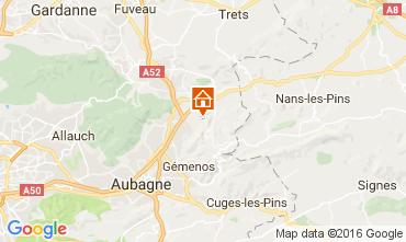 Carte Auriol Gite 88967