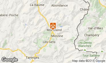Carte Morzine Chalet 21894