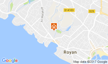Carte Royan Maison 93952