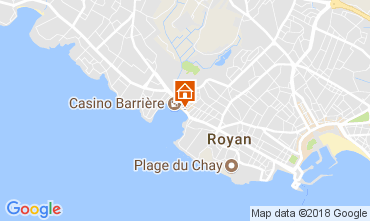 Carte Royan Appartement 93351