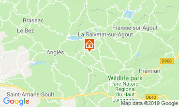 Carte La Salvetat-sur-Agout Gite 119314