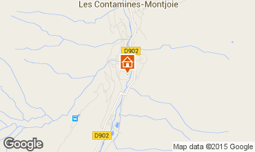 Carte Les Contamines Montjoie Appartement 81787
