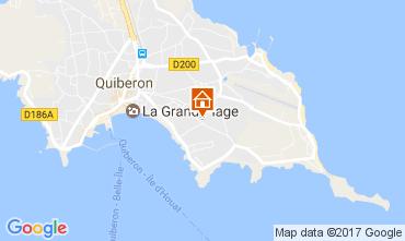 Carte Quiberon Appartement 107688
