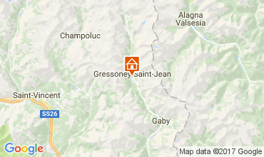 Carte Gressoney Saint Jean Studio 110114