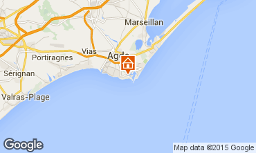Carte Cap d'Agde Appartement 40866