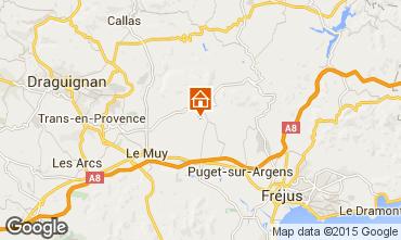 Carte Roquebrune sur Argens Appartement 92877